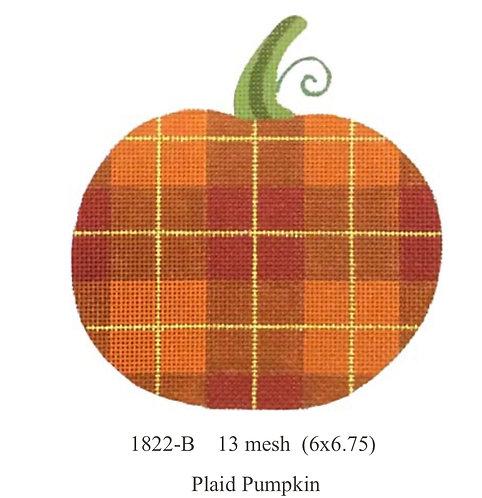 Melissa Shirley 1822B Plaid Pumpkin 13 mesh