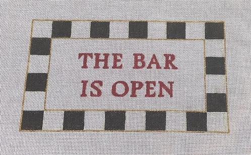 Judy Tasch Needlepoint The Bar is Always Open