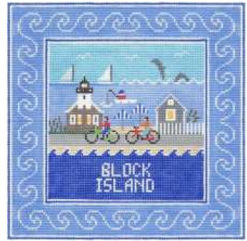 Doolittle Destination Squares 13 mesh Block Island