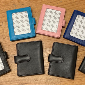 New Planet Earth Snap Wallets and Small Zip Pouches