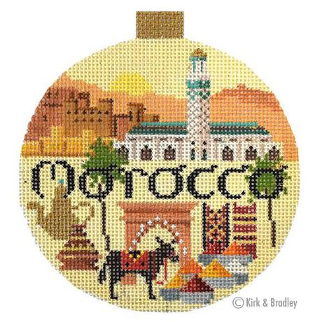 KB 1512 Morocco Round