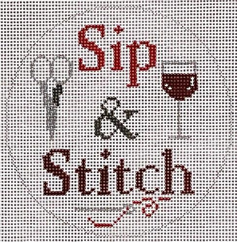 ZIA -162 Red Wine Sip & Stitch