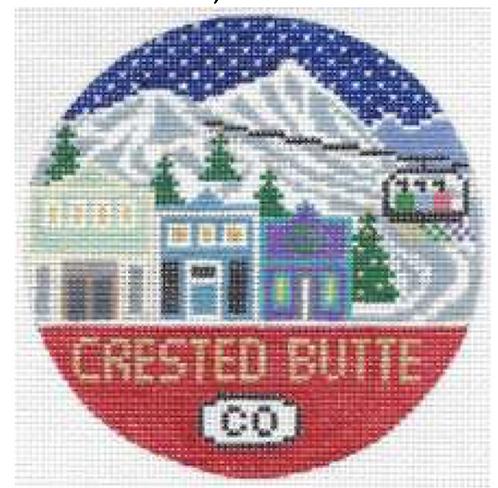 Doolittle Ski Rounds 18 mesh Crested Butte