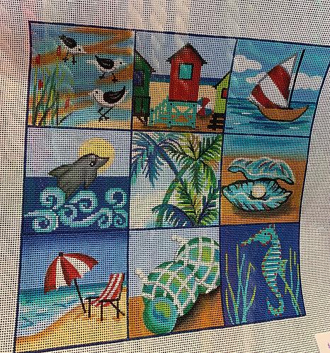 Alice Peterson AP 4269 Beach Collage 13 mesh