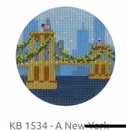 Kirk and Bradley NY Bridge Round