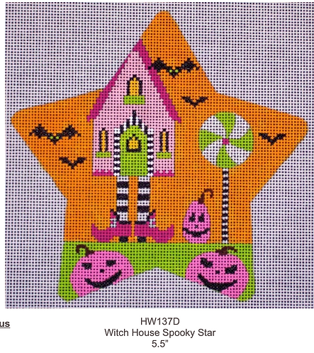 Eye Candy HW137D Witch House Spooky Star