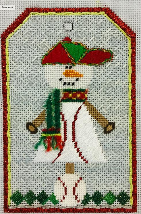 Sew Much Fun Snowman Baseball