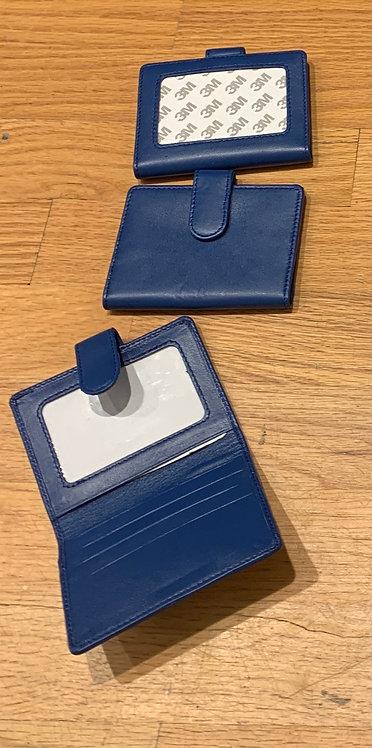 Blue Snap Wallet (Takes 2x3 Insert)