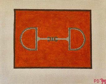 Poppy's Needlepoint Equestrian Hermes Bit