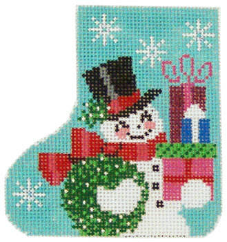 SK128 Snowman Holiday Gifts Skate