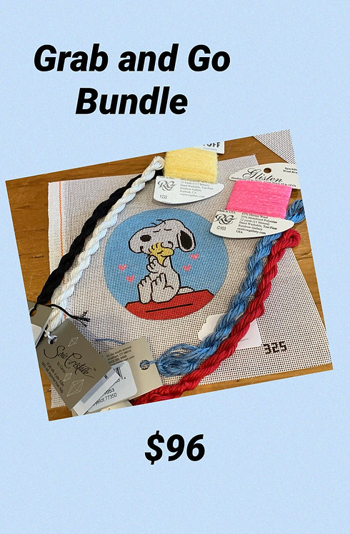 Grab and Go Snoopy and Woodstock