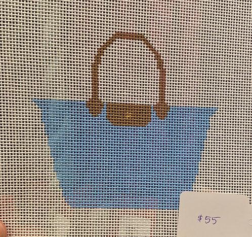 OG Needlepoint Bags Light Blue