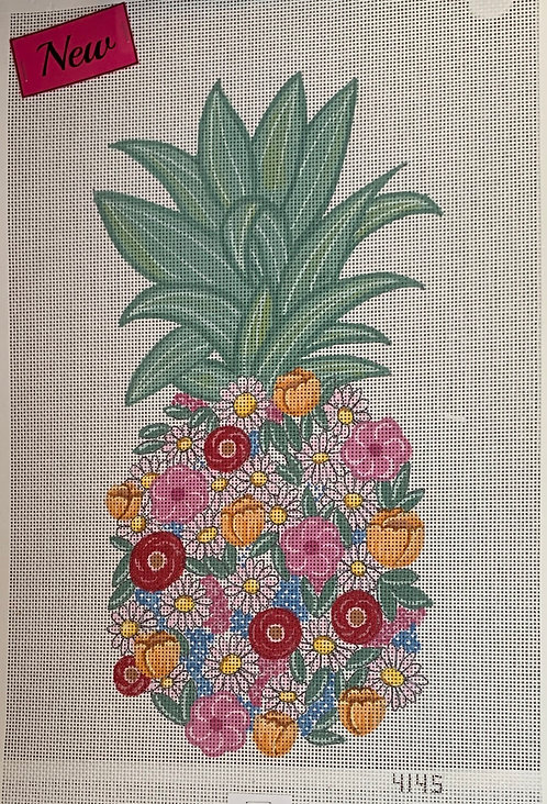 Alice Peterson Floral Pineapple