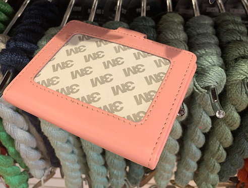 Pink  Snap Wallet (Takes 2x3 Insert)
