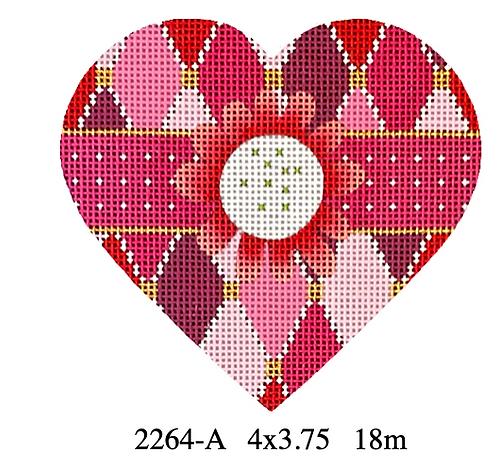 Melissa Shirley 2264-A Trellis Heart