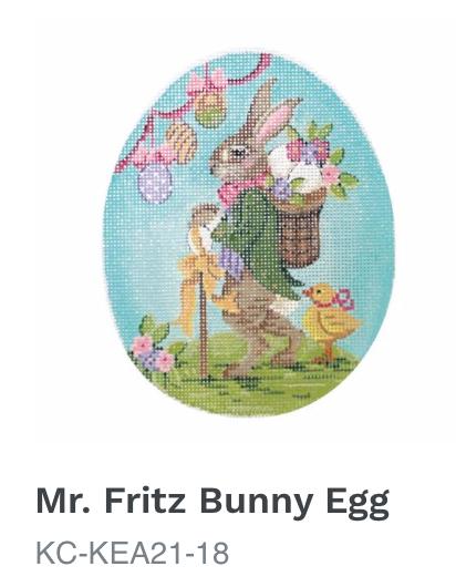 Kelly Clark Mr.  Fritz Rabbit Egg