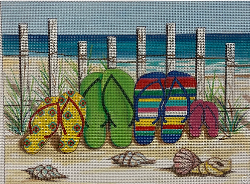 AP 4224 Flip Flops on Beach 13 mesh