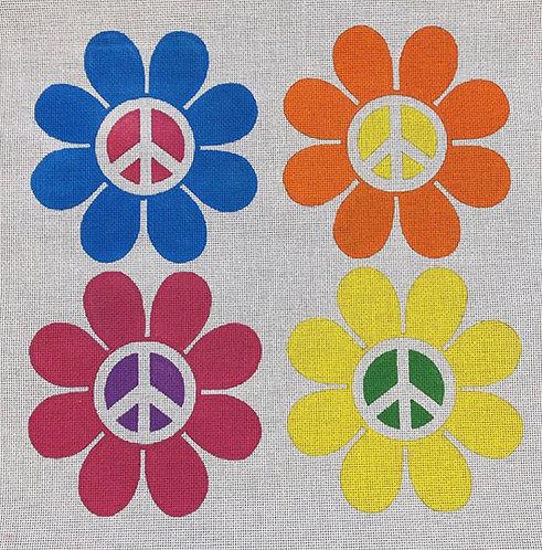 DJ Designs DL2037 Peace Flowers 13 mesh