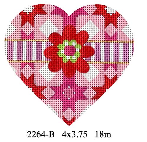 Melissa Shirley 2264-B Quilt Heart