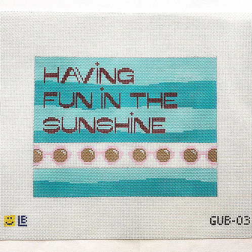 Lauren Bloch Having Fun in the Sunshine