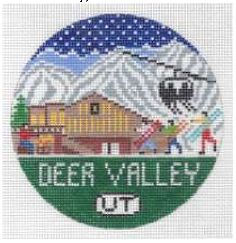 Doolittle Ski Rounds 18 mesh Deer Valley