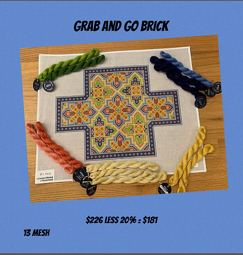 Grab and Go Canvas Works Brick