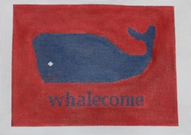 Kristine Kingston P117R Whalecome on Red