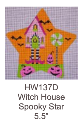 Eye Candy HW137D Spooky Star - Witch House