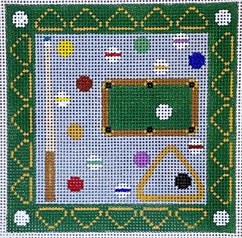 """Danji Designs CH-482 Billiards 4"""" Square"""