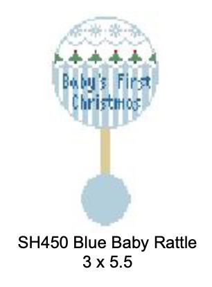 Kathy Schenkel Baby's 1st Christmas Rattle SH450