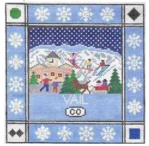Doolittle Ski Squares 13 mesh Vail