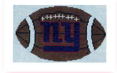 Meredith Collection NY Giants Football Ornament