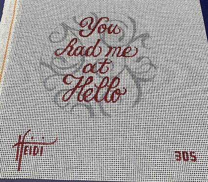 Heidi 305 You Had Me at Hello
