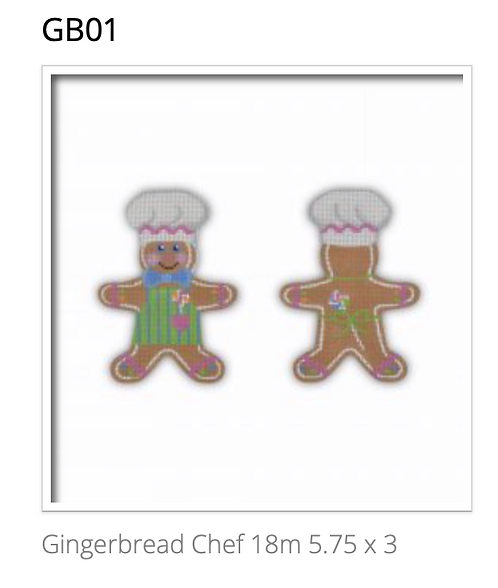 Pepperberry GB01 Gingerbread Chef