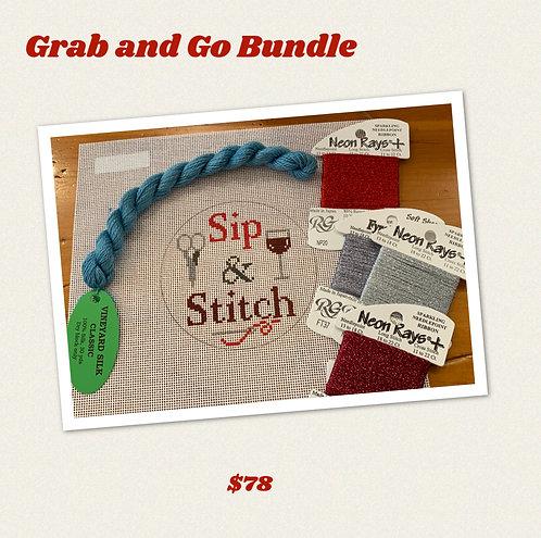 Grab and Go Bundle Bundle - Sip and Stitch