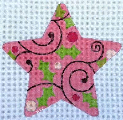 Raymond Crawford HO773 Pink Swirl Star