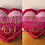 Thumbnail: Oasis Di9 Love You with all my heart 2 sided pillow