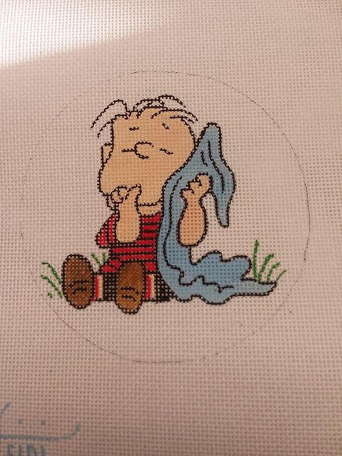 Heidi Linus and his blanket