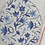 Thumbnail: Blueberry Point Chinoiserie Egg - 4""