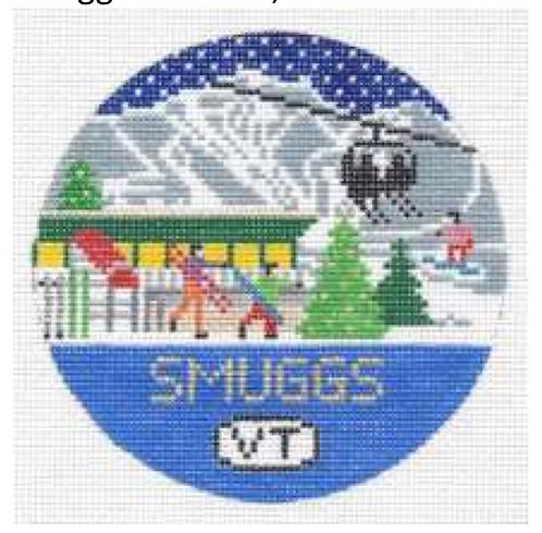 Doolittle Ski Rounds 18 mesh Smuggs