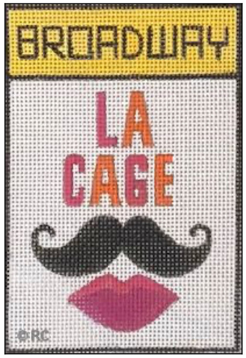 Raymond Crawford Playbill -Le Cage La Folle