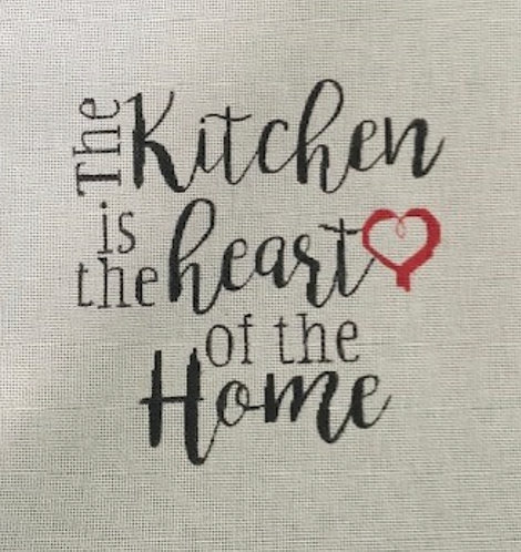 Pink Petals PPN1028 Kitchen is the Heart