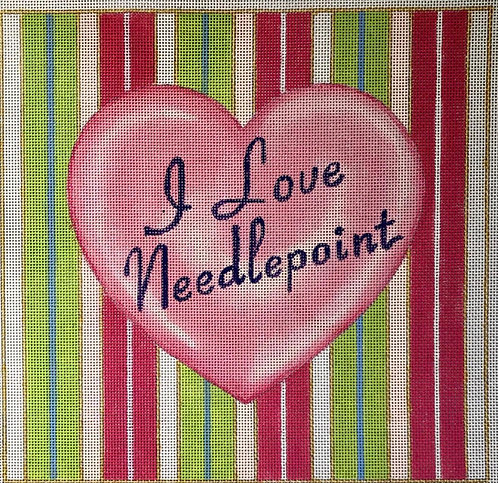 Raymond Crawford I Love Needlepoint
