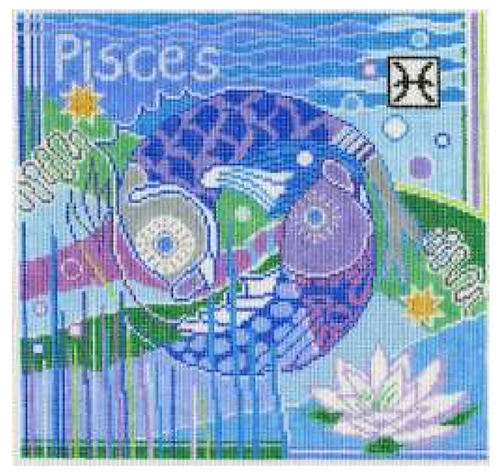 Doolittle Pisces Square 13 mesh