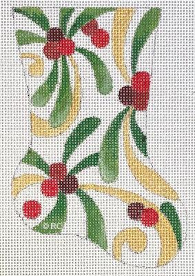 Raymond Crawford HO2004 Mistletoe Mini Sock