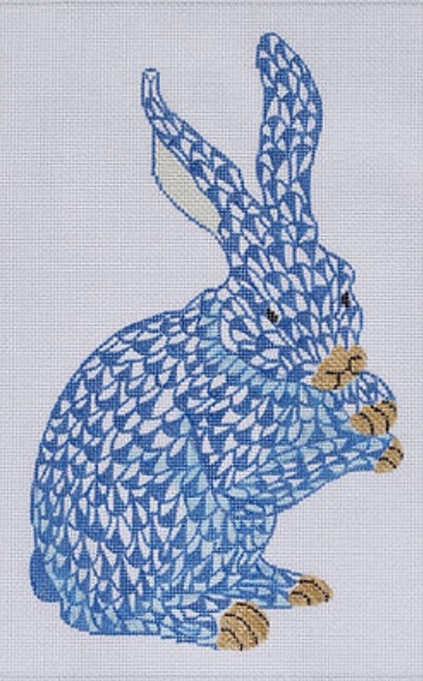 Kate Dickerson SST-30 Herend Style Standing Bunny
