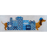 JP Needlepoint Kosher Hot Dog