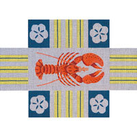 JP Needlepoint Lobster Brick Cover BC-010