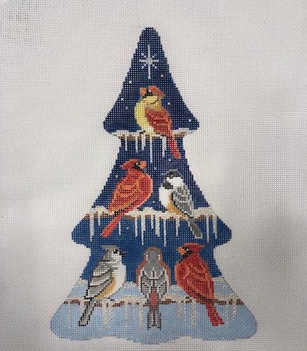 AP 4158  Bird Collection Tree