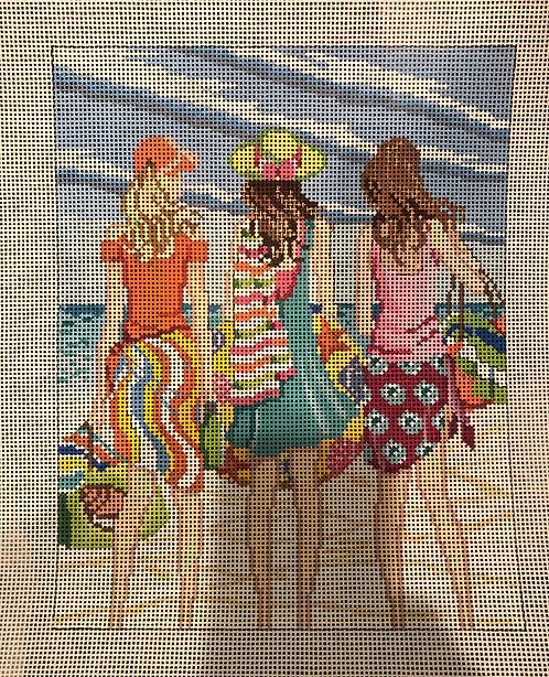 Alice Peterson girls on the beach